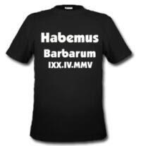 habemus barbarum