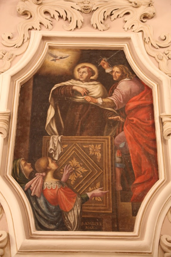 Image result for statue sant'angelo  martire licata