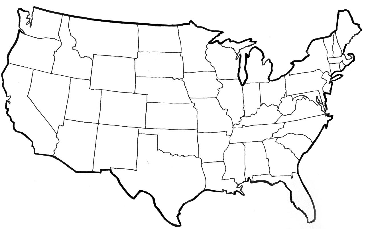 Image Result For America West Coast Map