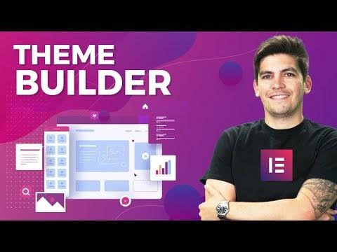 Elementor Theme Builder Tutorial