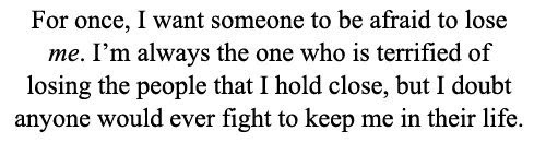 Quotes Love Quotes I Want This Care About Me Losing Someone Care