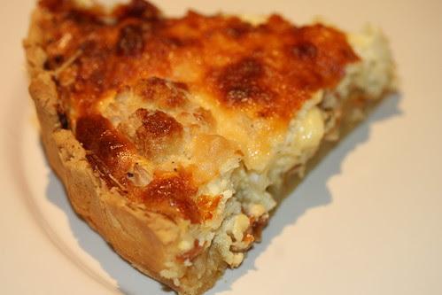 Cauliflower & Caramelised Onion Tart 3