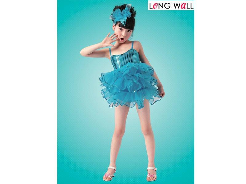 Trajes da dança do bailado, vestido do tutu para as crianças XC-016