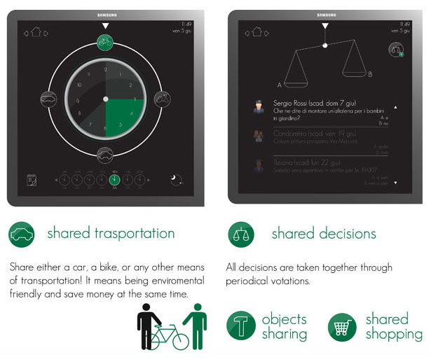 Toctofono or Knockin Phone Neighborhood Collaboration System