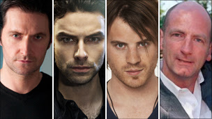 Richard Armitage, Aidan Turner, Rob Kazinsky and Graham McTavish