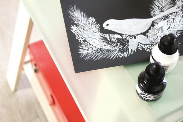 Snowbird on my desk
