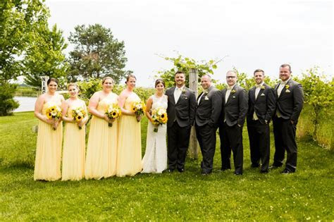 Josh & Kelsey: A Mackinaw Valley Winery Wedding   Caitlin