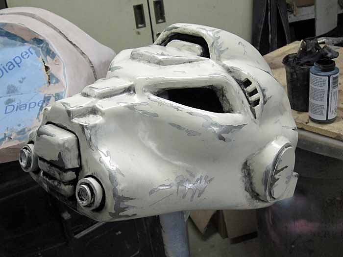 SM Terminator Helmet Blackwashed