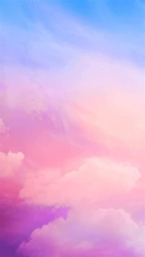 pink clouds iphone wallpaper renk iphone wallpaper