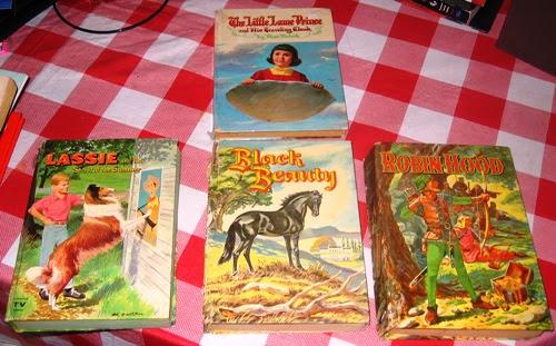 Whitman books, mostly.