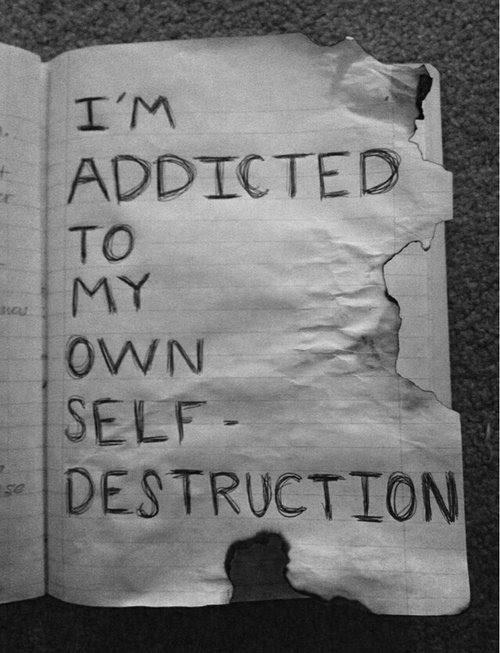 Quote Depressed Sad Suicidal Suicide Quotes Black Hate Cut Upset I