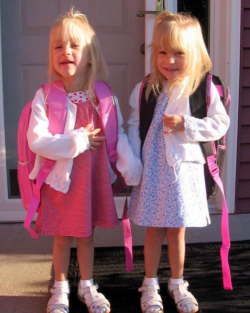 1st day of Preschool!
