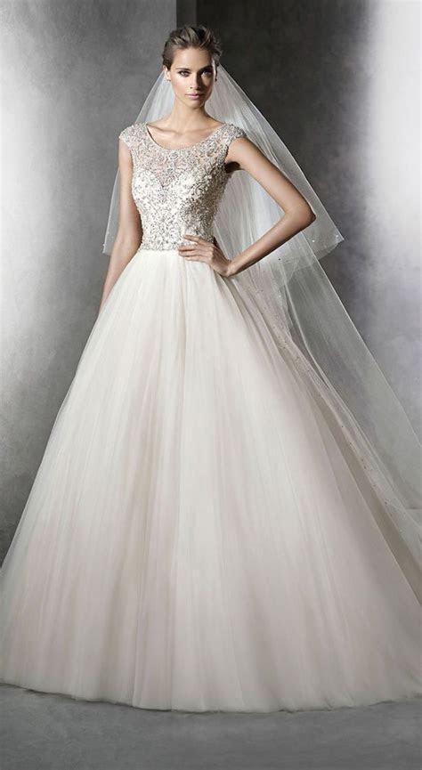 Modest Wedding Dresses with Pretty Details   MODwedding