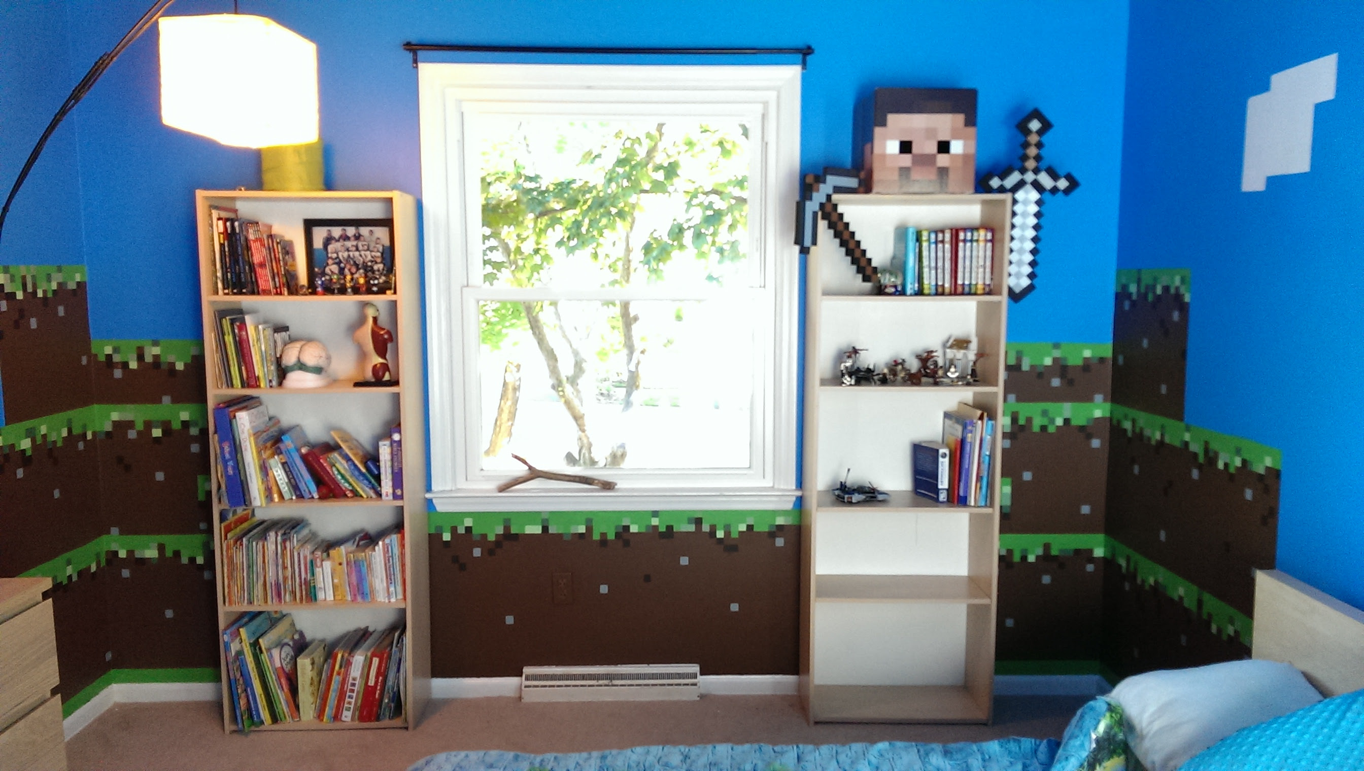 Need Ideas For Real Life Minecraft Design For Room Discussion