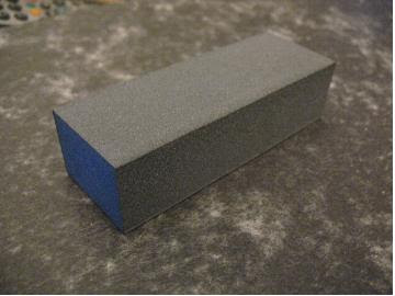 MFS - Blue Sanding Block 300grit - 4 sided Scale na #005