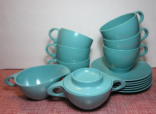 melmac tea set
