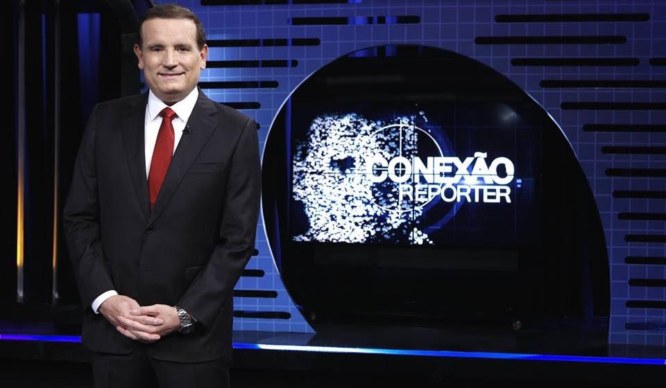 """Roberto Cabrini no """"Conexão Repórter"""" (Foto: Lourival Ribeiro/SBT)"""