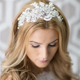 1000  images about headband bride on Pinterest   Vintage