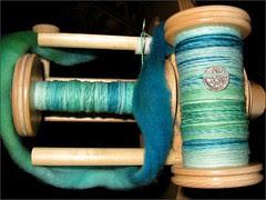 Sea Nymph yarn, bobbin 1+