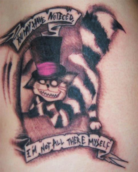 Ink In Wonderland 25 Mad Alice In Wonderland Tattoos Ink Art Tattoos