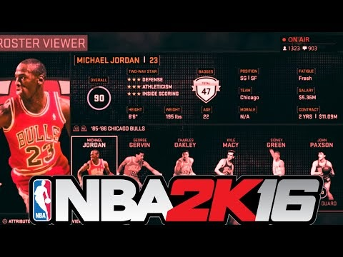 8b1f24a020dc The Real 2K Insider  Official NBA 2K16 Current and Classic Player Ratings