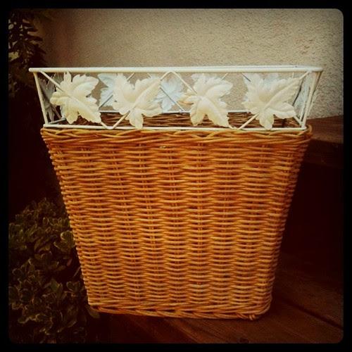 Waste Basket Makeover