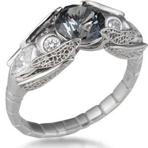 157 best images about Goth Engagement Rings on Pinterest
