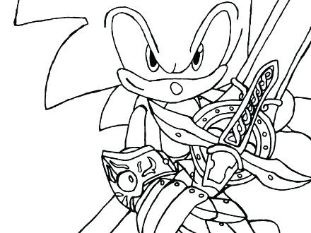 sonic coloring pages free printable at getdrawings  free