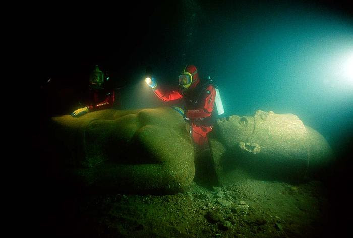 Lost city of Heracleion egypt franck goddio (4)