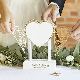 Wedding Vows Heart Keepsake Lock Box Personalized