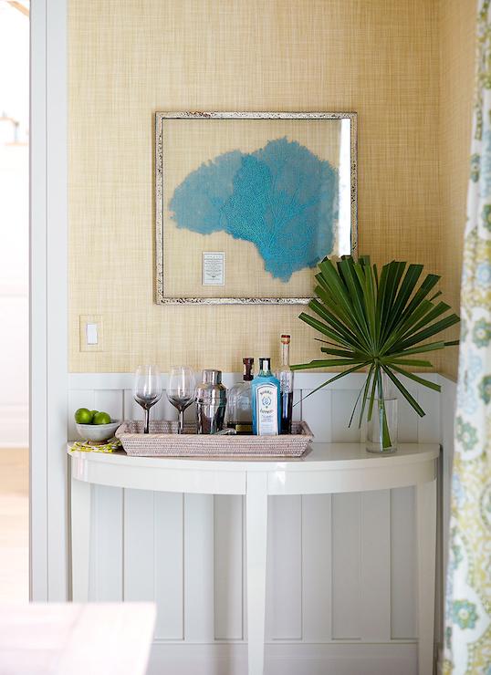 Framed Sea Fan - Cottage - dining room - Andrew Howard ...