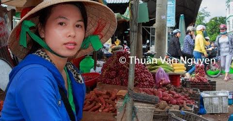 Vietnam || Vung Liem Rural Market || Vinh Long Province