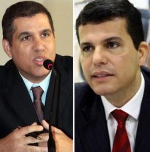 Cláudio Trinchão e Fábio Gondim