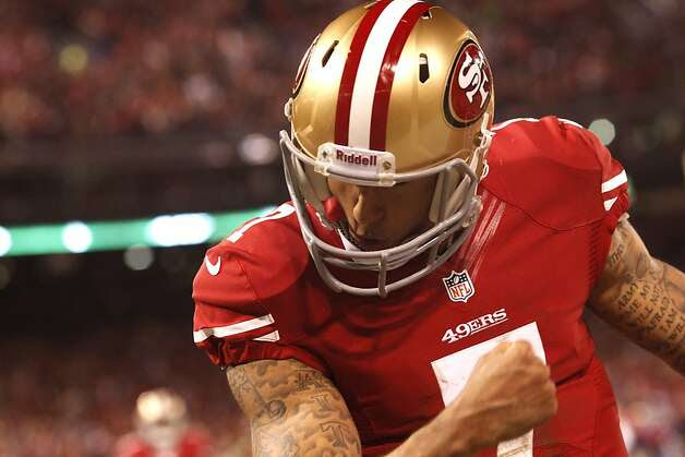 Colin Kaepernick will test a defense that struggled against some top running QBs. Photo: Brant Ward, The Chronicle