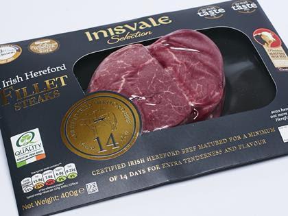 Lidl Inisvale Selection Irish Hereford Fillet Steaks