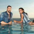 Lais Ribeiro já fotografou uma campanha da marca Ellus ao lado do ator Cauã Reymond
