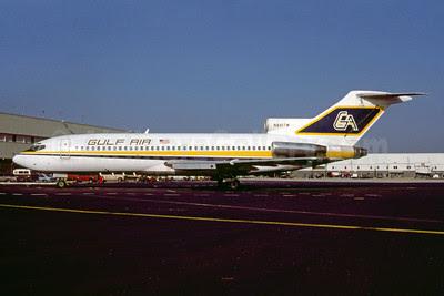 Gulf Air Transport Boeing 727-31 N841TW (msn 18906) MIA (Bruce Drum). Image: 103058.