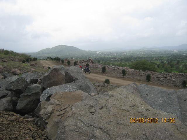 Cut, Demolished & Destroyed Hill of XRBIA Hinjewadi Pune - Nere Dattawadi, on Marunji Road, approx 7 kms from KPIT Cummins at Hinjewadi IT Park - 102