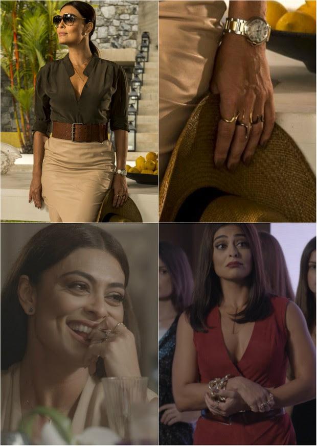 Personagem Carolina, vivido por Juliana Paes, na novela Totalmente Demais (Foto: TV Globo/Divulgação)