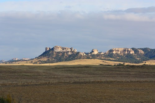 Bluffs east of Crawford, Nebraska