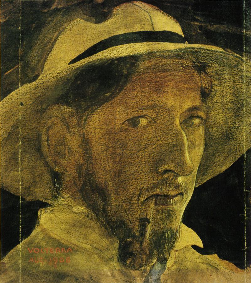 cavetocanvas:  John Bauer, Self Portrait, 1908
