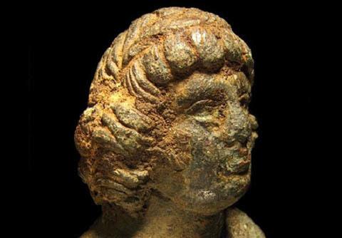 người tình đồng tính, hoàng đế La Mã, khảo cổ, phát hiện