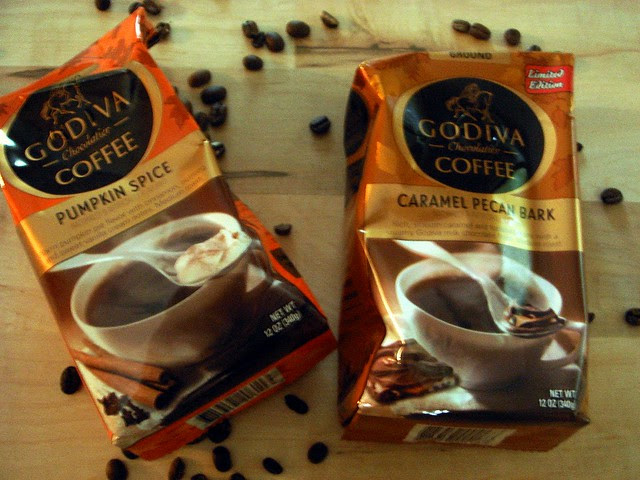 Godiva Cold Brew Iced Pumpkin Latte