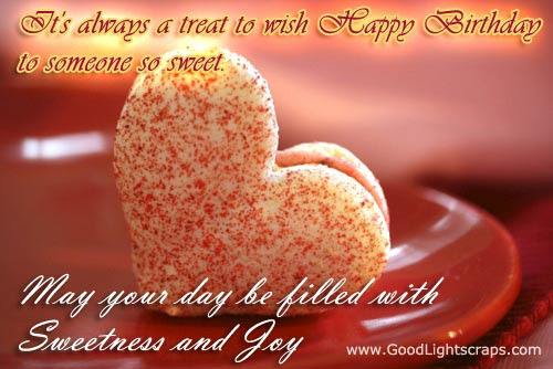 May You Days Be Filled With Sweet Surprises Birthday Quote
