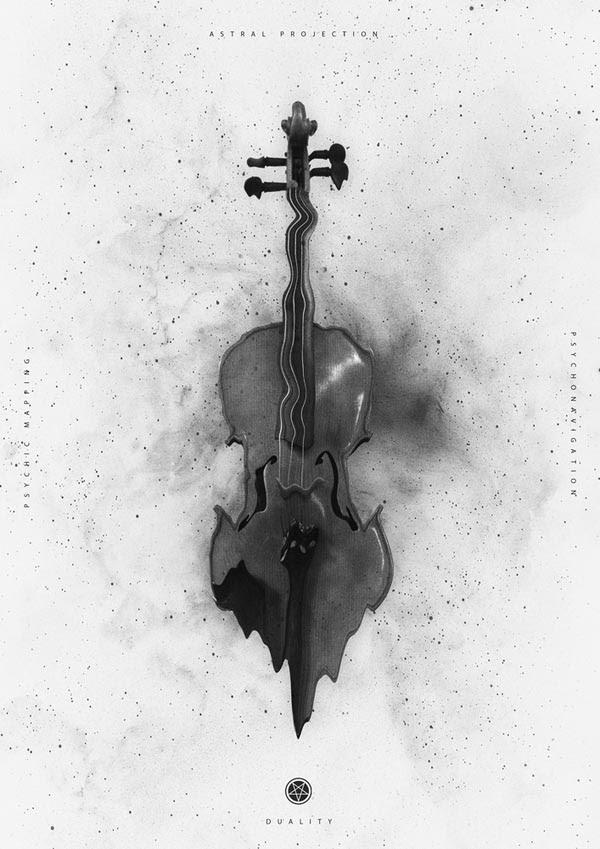 Black And White Artwork Design