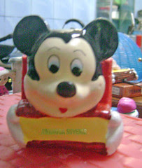 souvenir gypsum tempat pensil mickey