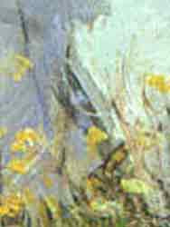 En el acantilado, Monet, 1873