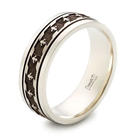 custom  tone mens wedding band  seattle