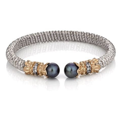 black pearl bracelet  alwand vahan dbpr pearls