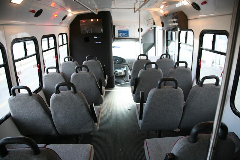 San Francisco 20 Passenger Wheelchair Accessible Bus Sf
